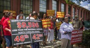 VS: leerkrachten in opstand in Trump-land