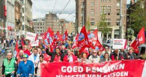 Stop de pensioenroof! Acties verder uitbreiden