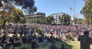 """Chile despertó""! Chili staat op in massaprotest"