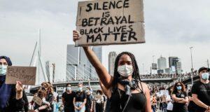 JusticeforGeorgeFloyd: Verslagen protestacties in Den Haag en Rotterdam