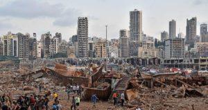 Explosie in Beiroet: solidariteit met de Libanese bevolking, de corrupte elite moet weg!