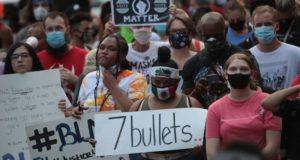 Opstand voor zwarte levens in Kenosha (VS)