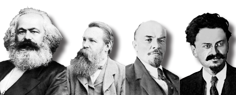 Marx, Engels, Lenin, Trotski