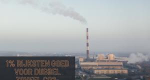 1% rijksten goed voor dubbel zoveel CO2-uitstoot als armste 50%