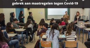 Griekse jongeren bezetten scholen uit protest tegen gebrek aan maatregelen tegen Covid-19