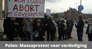 Polen: massaprotest voor verdediging abortusrechten. Covid kan woede niet stoppen