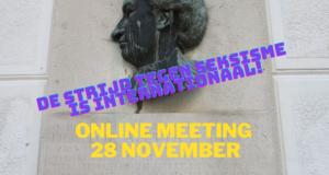 25 november internationale actiedag: stop geweld tegen vrouwen