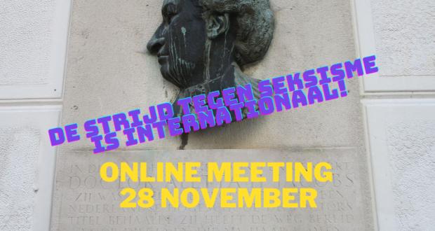 Online bijeenkomst: 28 november om 13:00 uur