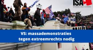 VS: massademonstraties tegen extreemrechts nodig