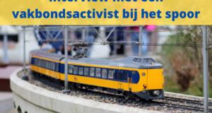 Interview met een vakbondsactivist bij het spoor