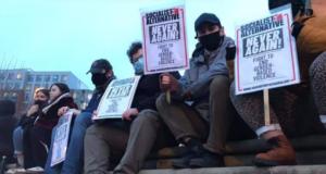 Protest na dodelijk geweld op Sarah Everard in Londen