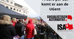 Strijd loont: 14 euro per uur komt er aan de UGent