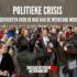 Politieke crisis uitgevochten over de rug van de werkende mensen