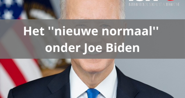 """Het """"nieuwe normaal"""" onder Joe Biden"""