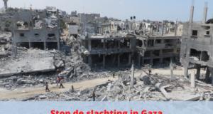 Stop de slachting in Gaza – Verzet nodig tegen Israëlische staatsterreur
