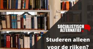 Studeren alleen voor de rijken? No way!