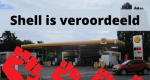 Royal Dutch Shell is veroordeeld door de rechtbank