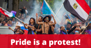 Pride is a protest!