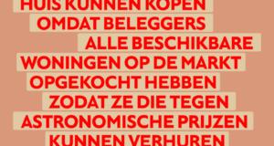 Doe mee met het woonprotest, 12 september in Amsterdam
